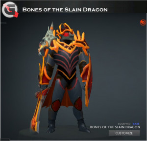 Bones of the Slain Dragon Set (Dragon Knight Set)