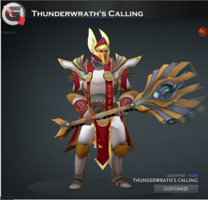 Thunderwrath's Calling Set (Omniknight Set)