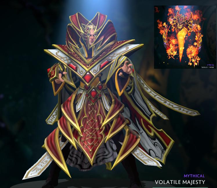 Volatile Majesty (Invoker Set)