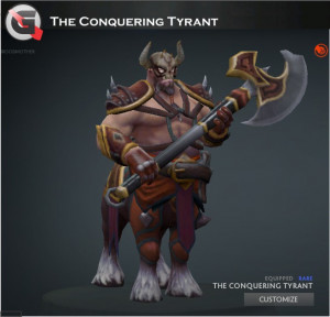 The Conquering Tyrant Set (Centaur Warrunner Set)