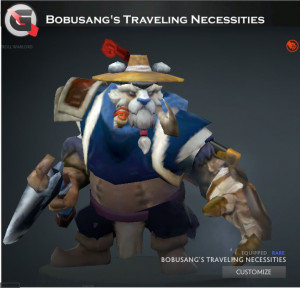 Bobusang's Traveling Necessities Set (Tusk Set)