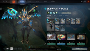 Cloud Forged Battle Gear Set (Skywrath Mage Set)