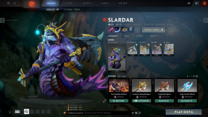 The Sea Dragon's (Slardar Set)