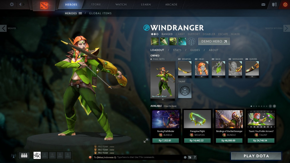 The Northern Wind (Windranger Set)