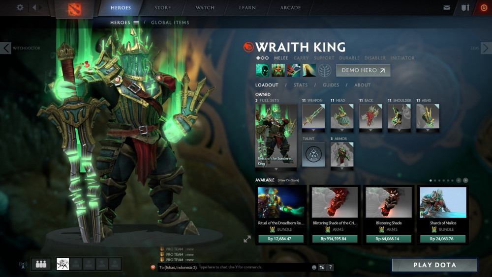 Relics of the Sundered King (Wraith King Set)