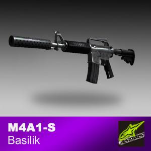 M4A1-S basilisk (Minimal-Wear)