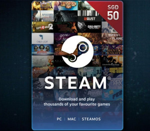 Steam wallet Code SGD 50