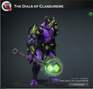 Dials of Claszureme (Faceless Void Set)