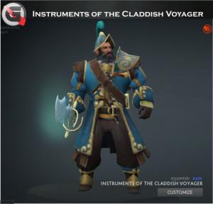 Instruments of the Claddish Voyager Set (Kunkka Set)