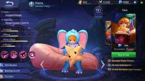 Slumber Party (Elite Skin Nana)