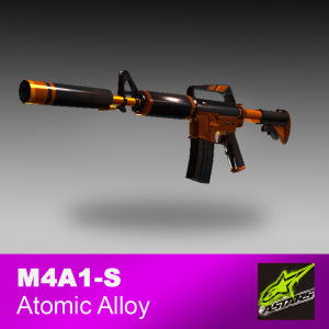 M4A1-S Atomic Alloy (Field-Tested)
