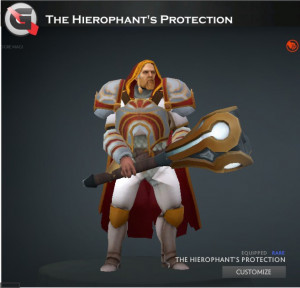 The Hierophant's Protection (Omniknight Set)
