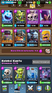 Arena 10 | 10 Legendary,Card Mantap