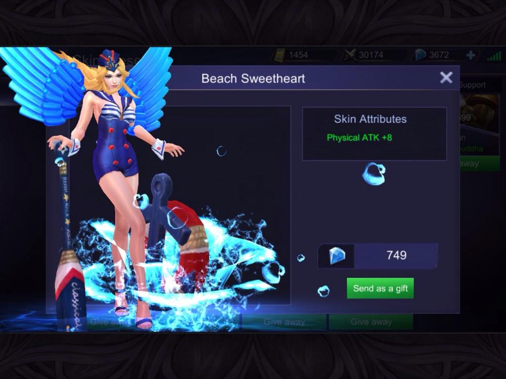 Beach Sweetheart (Special Skin Freya)