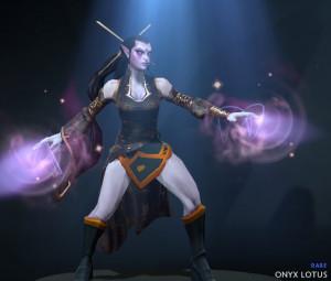 Inscribed Onyx Lotus (Templar Assassin Set)