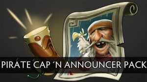 Announcer Pack Pirate Captain (Announcer+Megakill)