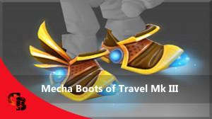 Inscribed Mecha Boots of Travel Mk III (Immortal Tinker)