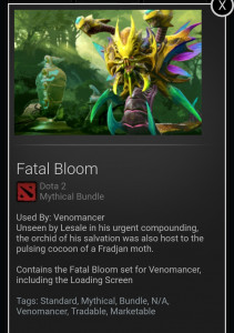 Fatal Bloom (Venomancer Set)