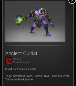 Ancient Cultist (Faceless Void Set)
