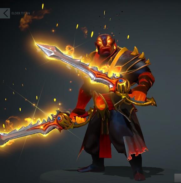 Genuine Rapier of the Burning God (Ember Spirit)