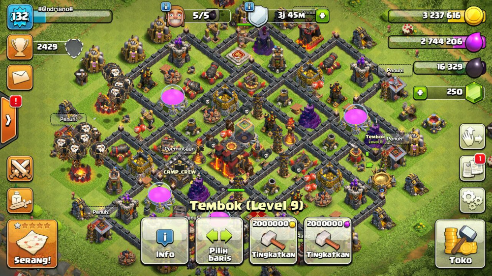 Clash of Clans TH 10 (35% update)