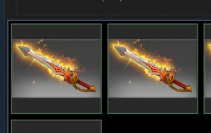 Genuine Rapier of the Burning God (Ember Spirit)