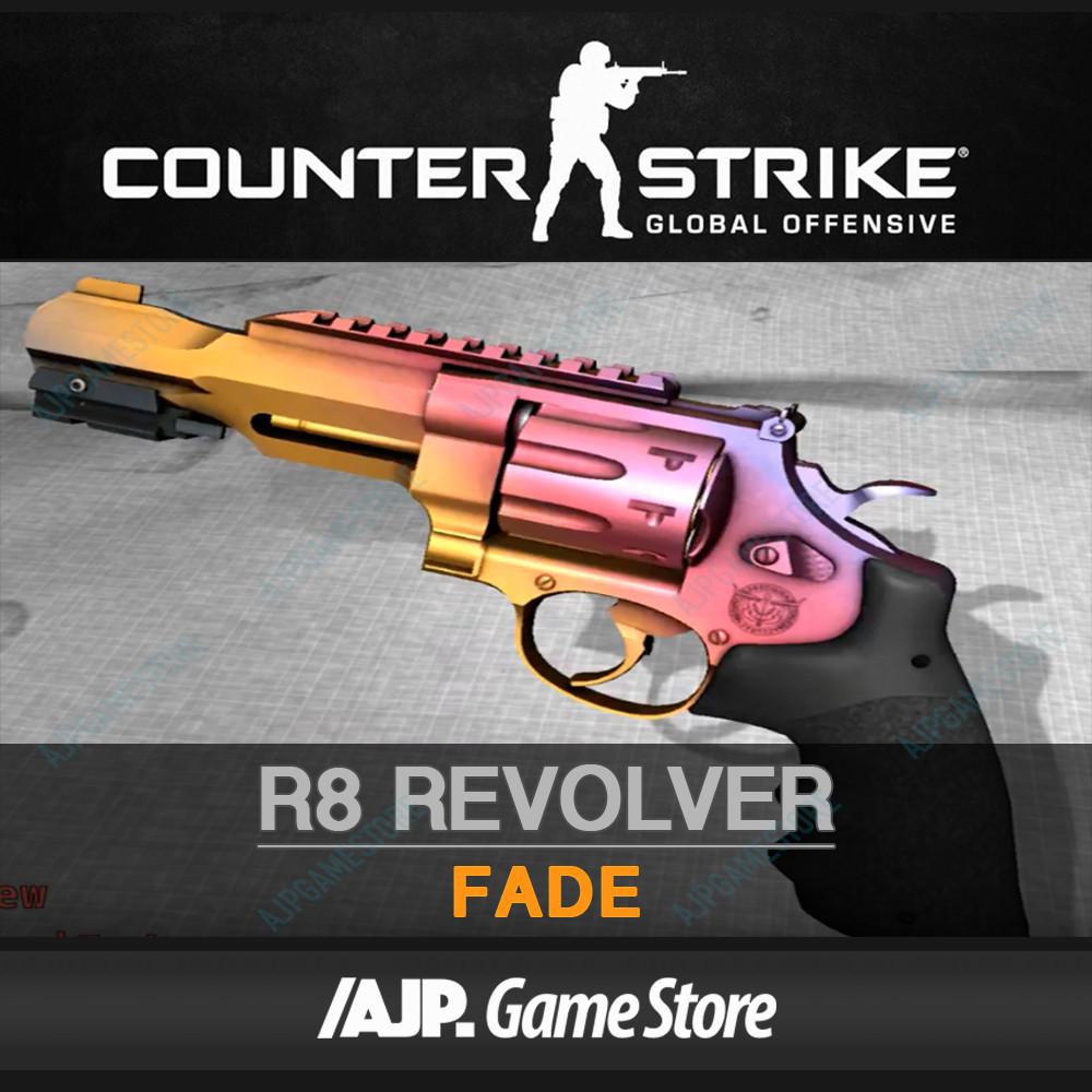 R8 Revolver   Fade (Covert Pistol)