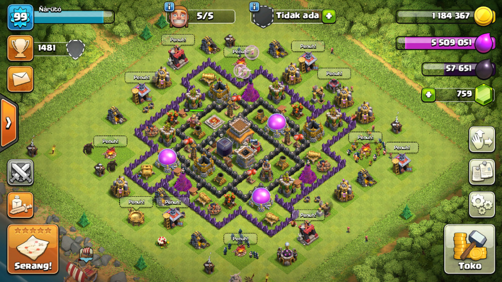 Town Hall 8 Max.