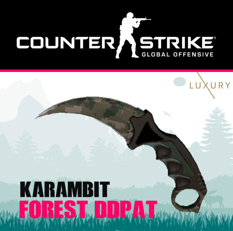 Karambit | Forest DDPAT