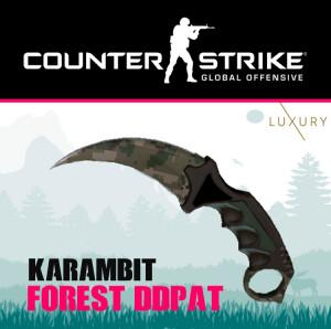Karambit   Forest DDPAT
