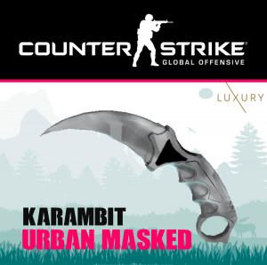 Karambit | Urban Masked