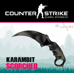 Karambit   Scorched