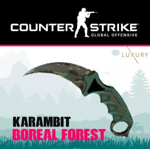 Karambit   Boreal Forest
