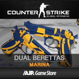 Dual Berettas | Marina (Restricted Pistol)
