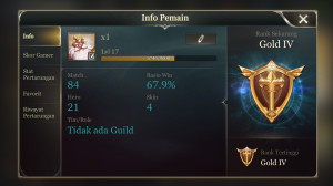 Arena of Valor Rank Gold