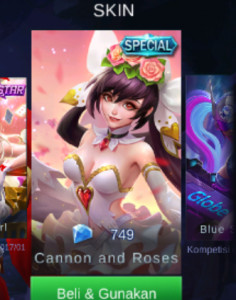 Cannon and Roses (Special Skin Layla)