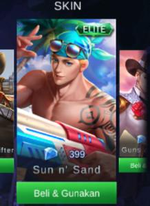 Sun 'n Sand (Elite Skin Clint)