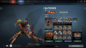 The Rowdy Firebrand (Batrider Set)