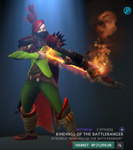 Bindings of the Battleranger (Windranger Set) Full