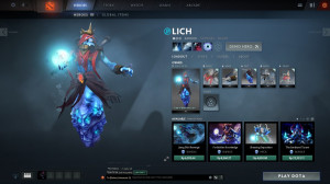 Garb of the Frost Lord (Lich Set)