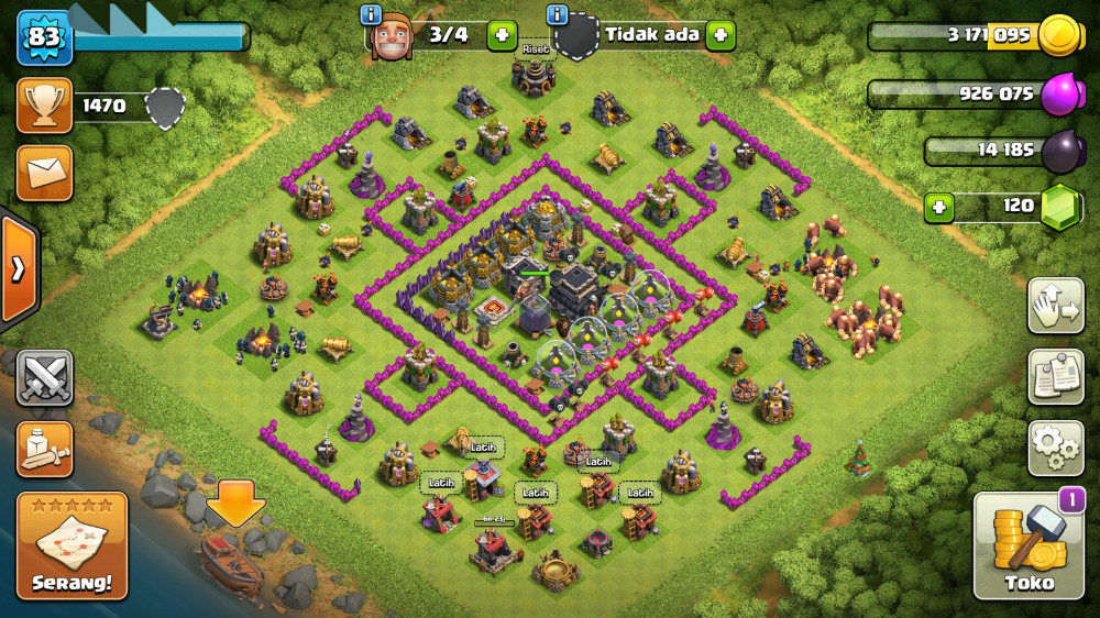 TH 9 | No Xbow | Cn On