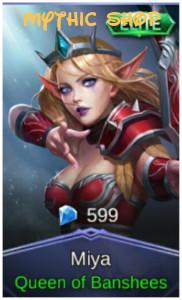 Queen of Banshees (Elite Skin Miya)