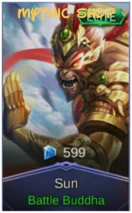 Battle Buddha (Elite Skin Sun)