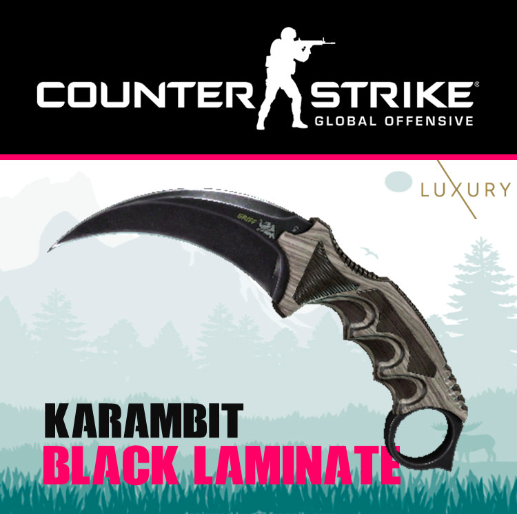 Karambit | Black Laminate