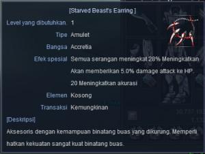 Starved Beast Earring High