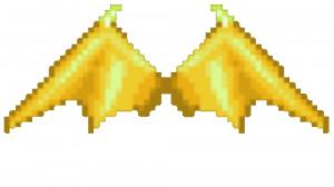 Golden Razor Wings