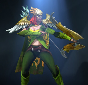 Wings of the Gilded Falcon (Windranger Set)