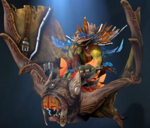 Flight of the Marauding Pyro (Batrider Set)