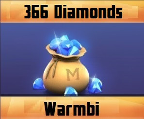 (iOS&Android) Top Up 366 Diamonds