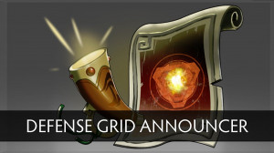 Announcer Pack Defence Grid (Announcer+Megakill)
